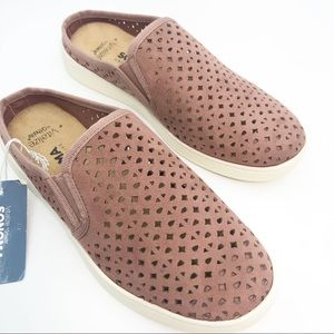 NWOB Sonoma | Mauve Perforated Loafers | 6.5M